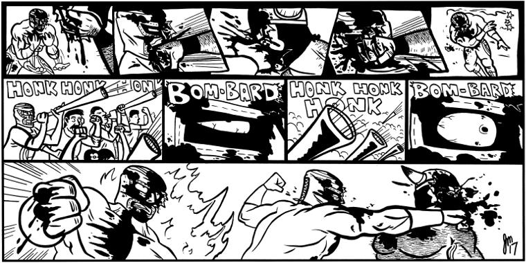 HEAT #426 – Bom-Bard, Honk-Honk-Honk