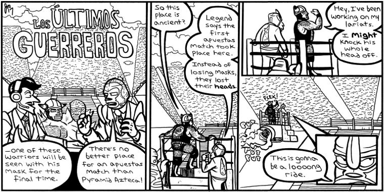 HEAT #438 – Los Ultimos Guerreros