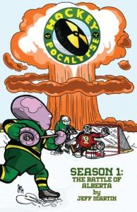 Hockeypocalypse Season 1 Front Cover DTC
