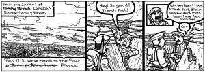 The Sharp End comic strip